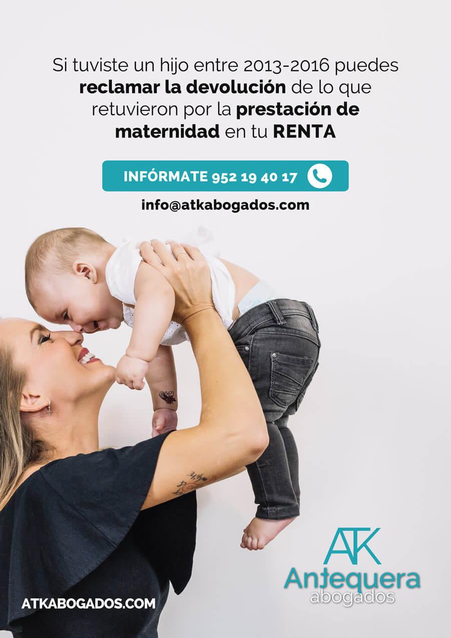 DEVOLUCIÓN POR MATERNIDAD IRPF DUDAS RESUELTAS